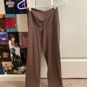 Aerie tan/brown leggings